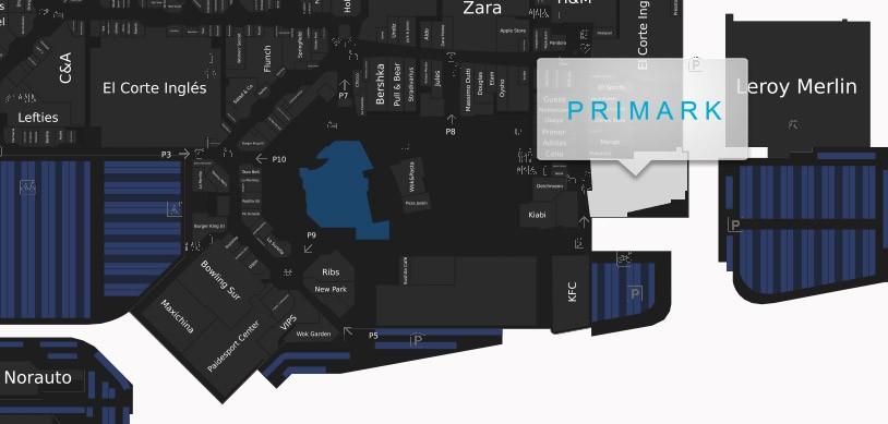 situacion primark parquesur - Primark Madrid