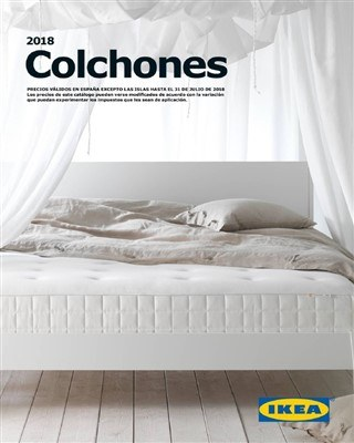 Catalogo Ikea colchones 2018
