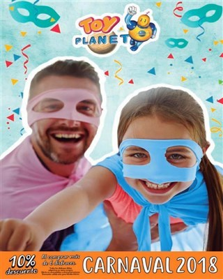 Catalogo Toy Planet carnaval 2018