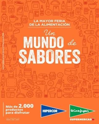 Catalogo Hipercor Feria mundo sabores
