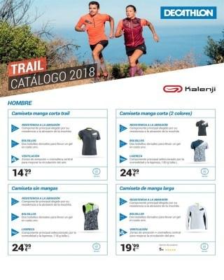 Catalogo Decathlon Coleccion sendero 2018