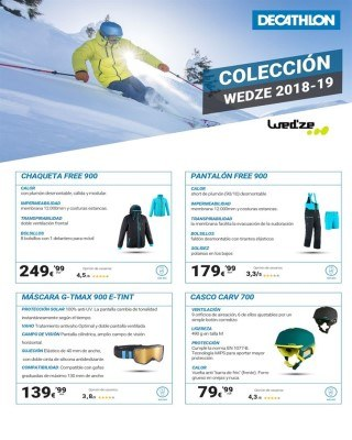Catalogo Decathlon Coleccion wedze