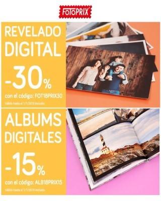 Catalogo Fotoprix Ofertas de revelado y albumes en digital