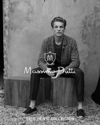 Catalogo Massimo Dutti Coleccion para hombres ss18