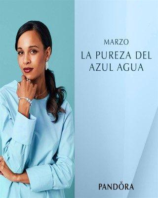 Catalogo Pandora Marzo la pureza del azul agua