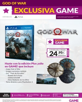 Catalogo Game exclusica dios de la guerra