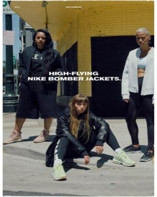 Catalogo Nike chaqueta de bomberos