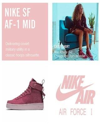 Catalogo Nike fuerza Aerea