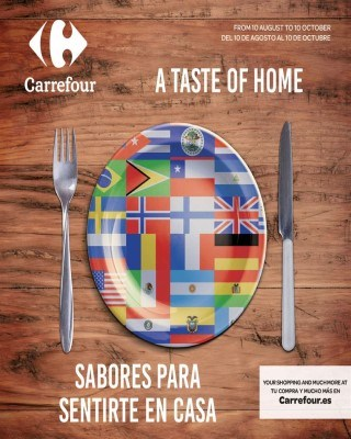 Catalogo Carrefour sabores para sentirte en casa