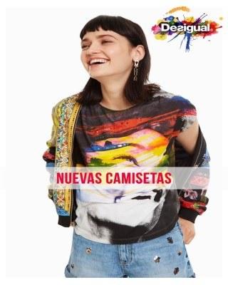 Catalogo Desigual nuevas camisetas