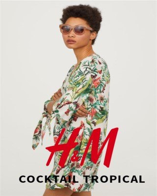 Catalogo H&M coctel tropical