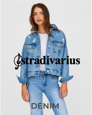 Catalogo Stradivarius denim