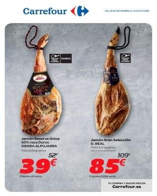 Catalogo Carrefour especialistas del jamon