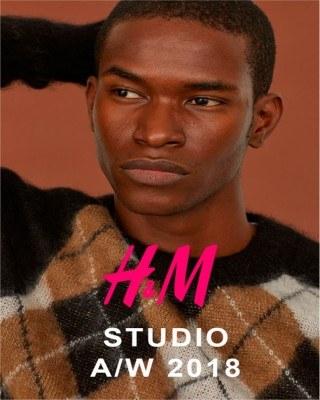 Catalogo H&M estudio de hombre 2018