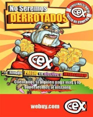 Catalogo Cex Superarnos jamas, no seremos derrotados