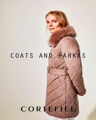 Catalogo Cortefiel abrigos y parkas