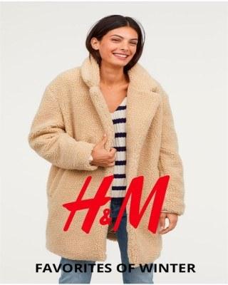 Catalogo H&M favoritos del invierno