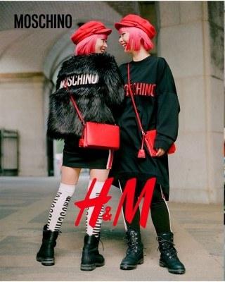 Catalogo H&M moschino