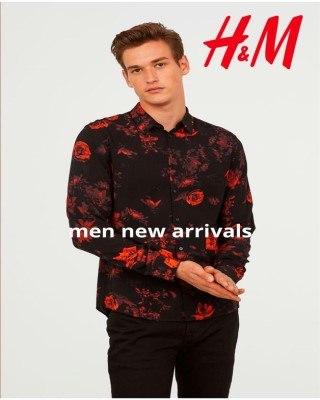 Catalogo H&M recién llegados para hombres