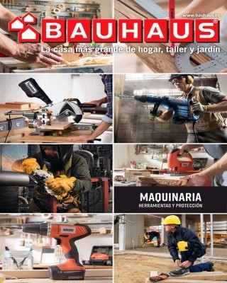 Catalogo Bauhaus maquinaria