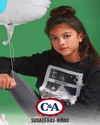 Catalogo C&A sudaderas niñas