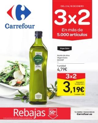 Catalogo Carrefour 3x2 es mas de 5000 productos