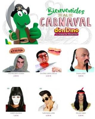 Catalogo Don Dino bienvenidos al carnaval