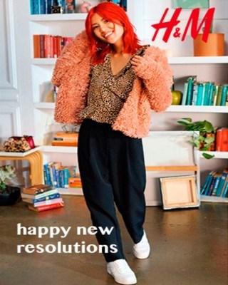 Catalogo H&M felices nuevas resoluciones