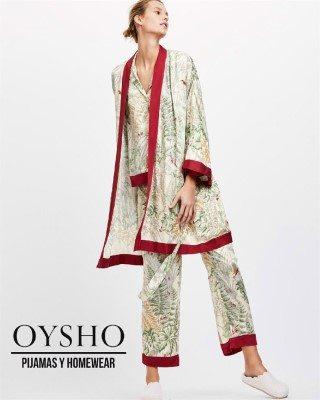 Catalogo Oysho pijamas y ropa de casa