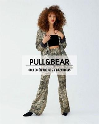 Catalogo Pull & Bear coleccion de abrigos y cazadoras