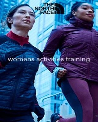 Catalogo The North Face actividades para mujeres