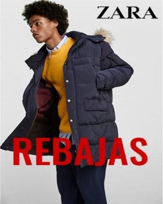 Catalogo Zara rebajas de hombre