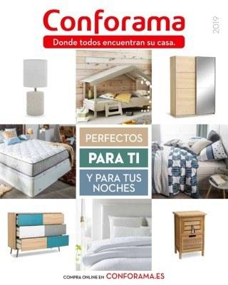 Catalogo Conforama guia de dormitorios, colchones y armarios
