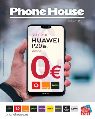 Catalogo Phone House revista de febrero