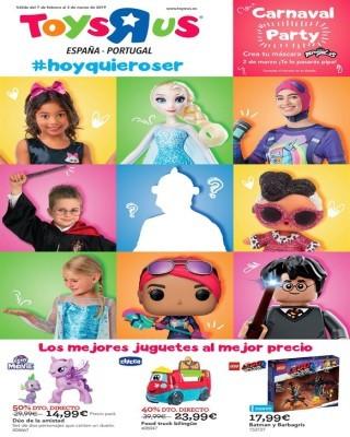 Catalogo ToysRus carnaval
