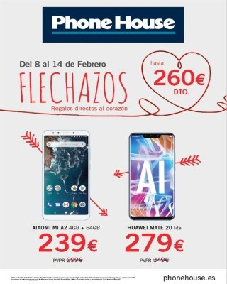 Catalogo flechazos en Phone House