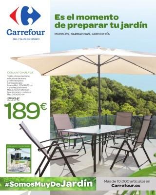 Catalogo Carrefour es el momento de preparar tu jardin