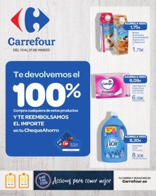 Catalogo Carrefour te devolvemos el 100 porciento