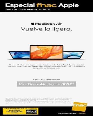 Catalogo Fnac especial de apple