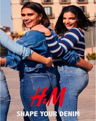 Catalogo H&M dale forma a tu mezclilla