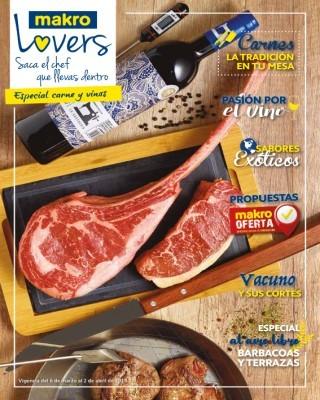 Catalogo Makro carnes la tradiccion en tu mesa
