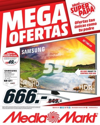 Catalogo Media Markt mega ofertas ideal super papa