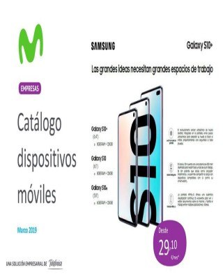 Catalogo Movistar dispositivos