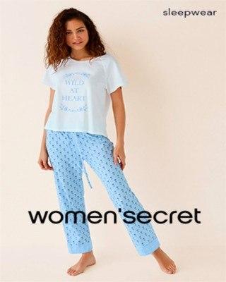 Catalogo Women Secret ropa de dormir