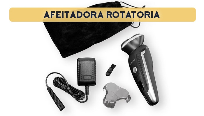 afeitadora rotatoria - Afeitadora rotatoria recargable Lidl