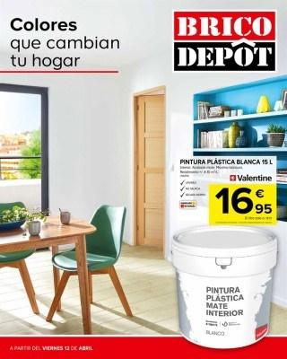 Catalogo Brico Depot colores que cambian tu hogar