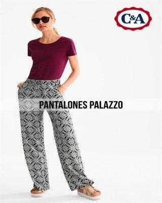 Catalogo C&A pantalones palazzo