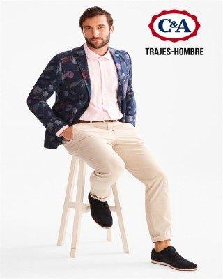 Catálogo C&A trajes para hombres