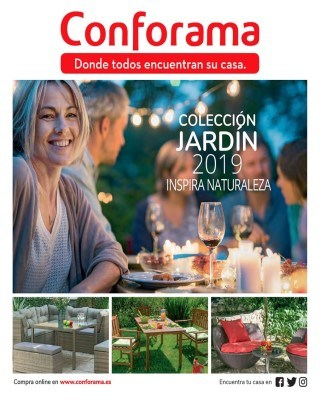 Catalogo Conforama coleccion de jardin 2019