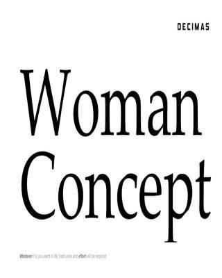Catalogo Decimas concepto de mujer